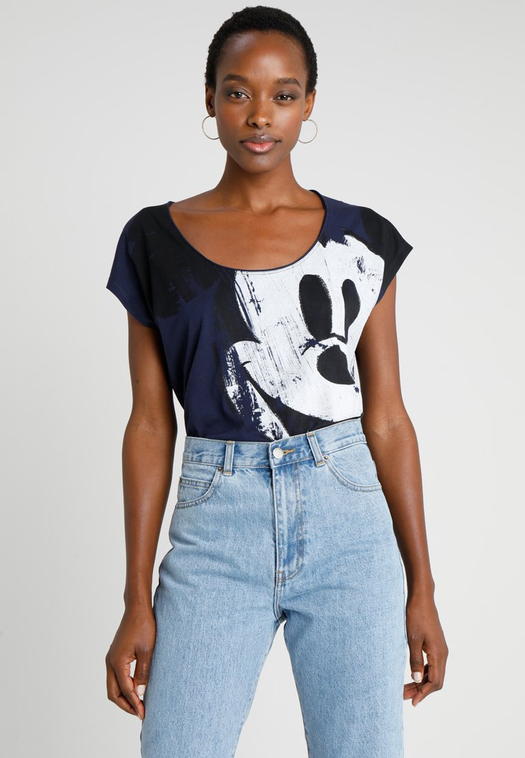 Desigual - MICKEY - Print T-shirt - blue