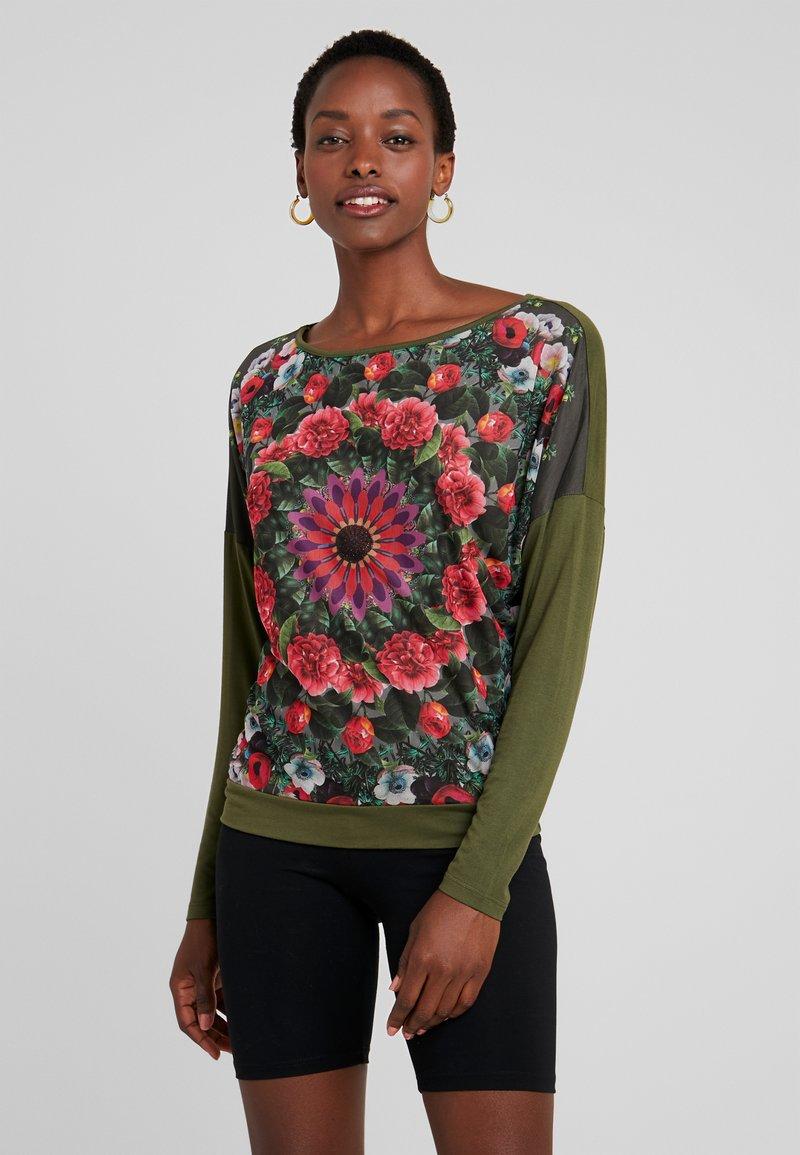 Desigual - NIKO - Long sleeved top - cactus