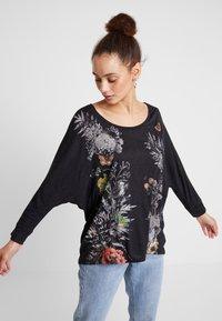Desigual - KEILA - T-shirt à manches longues - gris vigore oscuro - 0