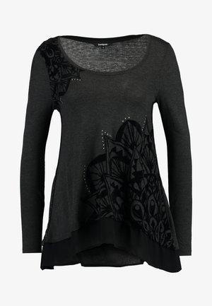SULLIVAN - Top sdlouhým rukávem - dark grey