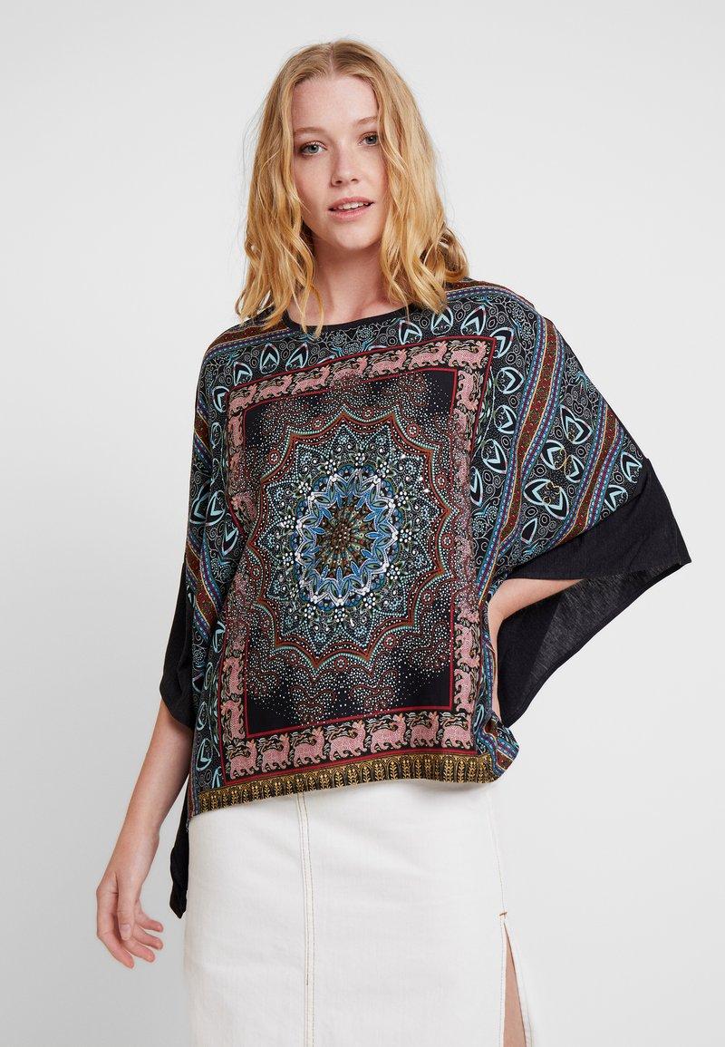Desigual - RAMISHA - Long sleeved top - black