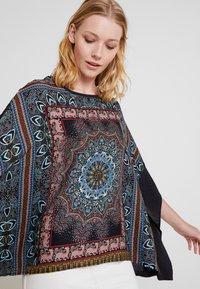 Desigual - RAMISHA - Long sleeved top - black - 3