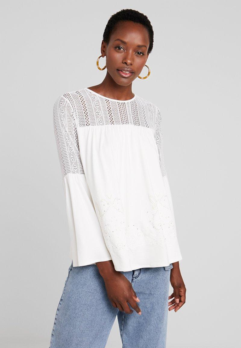 Desigual - IVANA - T-shirt à manches longues - cream