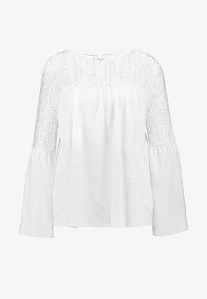 IVANA - Bluzka z długim rękawem - cream