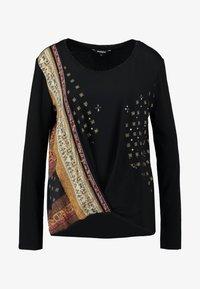 Desigual - BRIDGET - Long sleeved top - black - 4