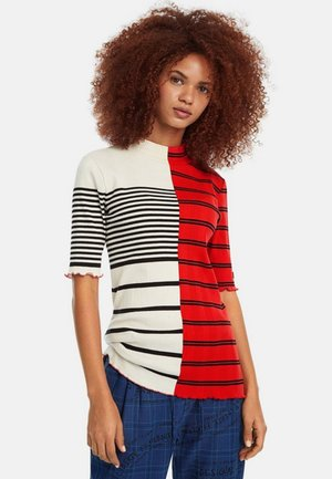 GENIS - T-shirt con stampa - red