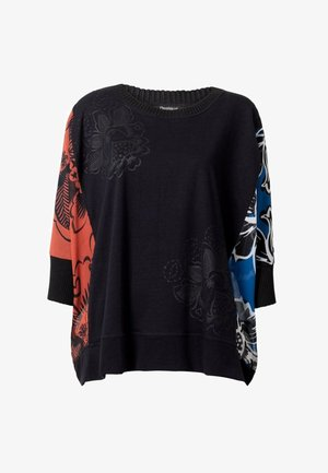 TS_ADASH - Langærmede T-shirts - black