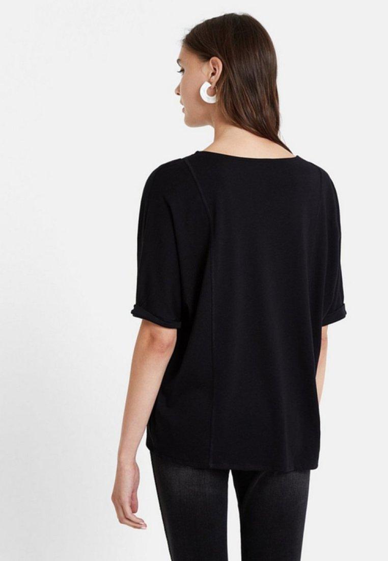 Desigual TS PENNY - T-shirt z nadrukiem - black