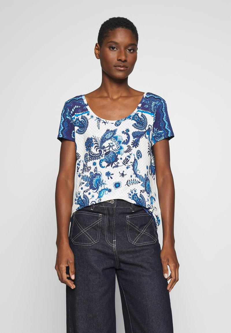 Desigual - MELIAN - T-shirt imprimé - azul dali