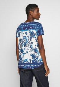 Desigual - MELIAN - T-shirt imprimé - azul dali - 2