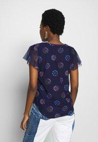 Desigual - VARSOVIA - T-shirts med print - estate blue - 2