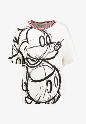LOVE MICKEY - Printtipaita - blanco