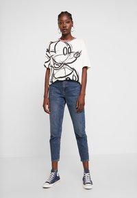 Desigual - LOVE MICKEY - T-Shirt print - blanco