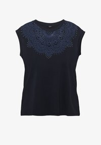 Desigual - BUDAPEST - T-shirt con stampa - navy - 3