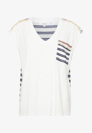 VERONA - T-shirt z nadrukiem - crudo