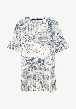 ISLA - Camiseta estampada - crudo