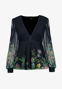 Desigual - THESSE - Long sleeved top - verde botella - 4