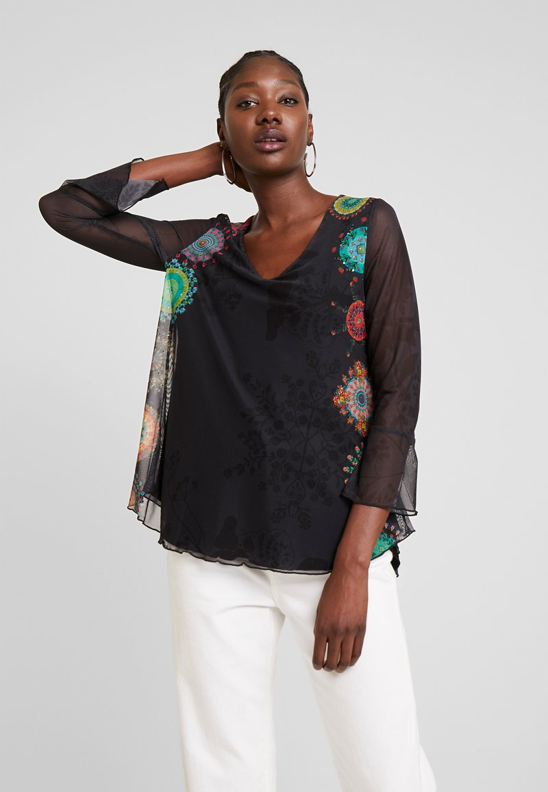 Desigual - BRULÉ - Long sleeved top - multi-coloured