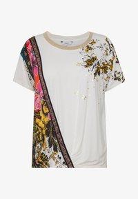 Desigual - ATENAS - T-shirt imprimé - white - 3