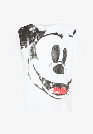 T-shirt print - blanco