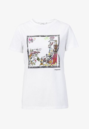 DESIGNED BY CHRISTIAN LACROIX - T-shirt med print - white