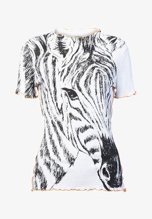 ZEBRA - T-shirt print - white