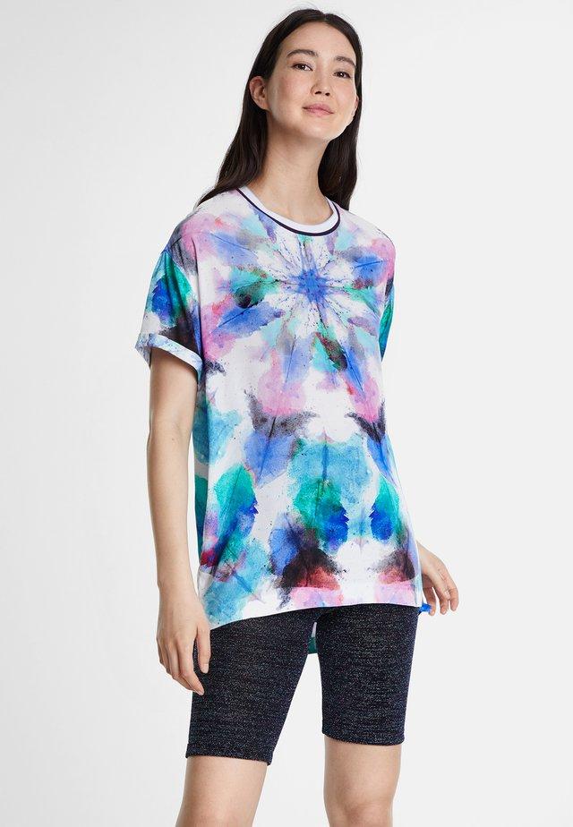 PALERMO - T-shirt z nadrukiem - blue