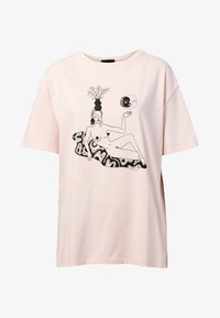 Desigual - DESIGNED BY MIRANDA MAKAROFF - Print T-shirt - red - 4