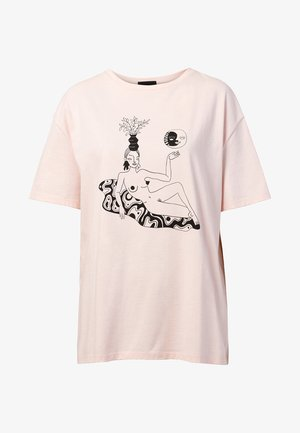 DESIGNED BY MIRANDA MAKAROFF - T-shirt con stampa - red