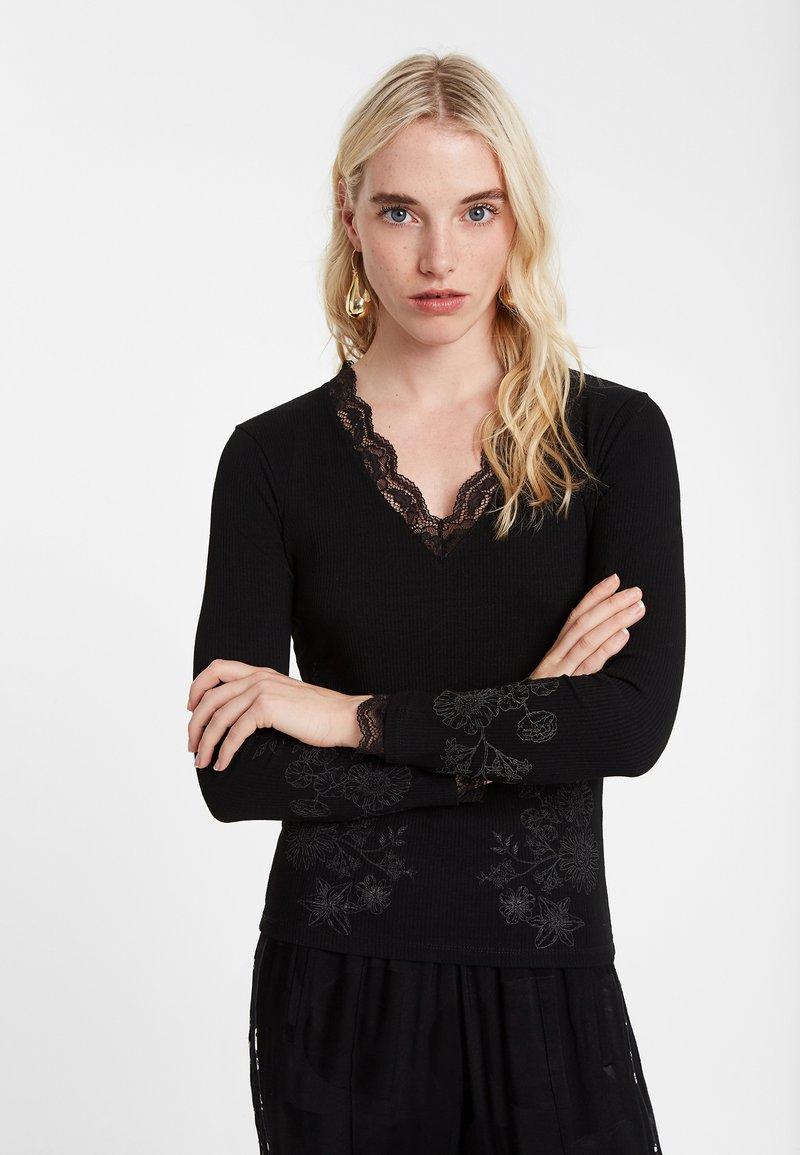 Desigual - Pullover - black