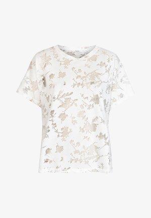 DEVORE GARDENS - T-shirt med print - white