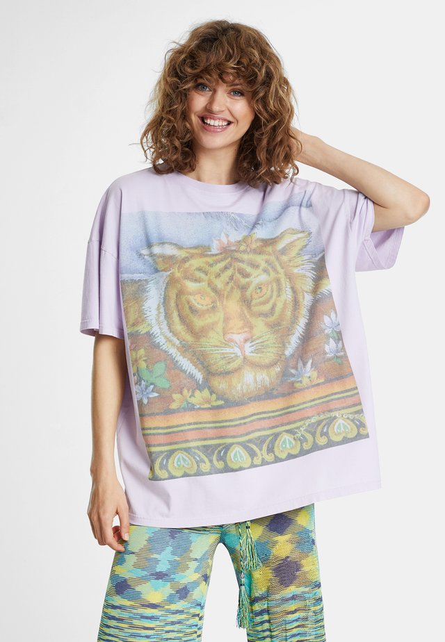 TS_CHACKRAS - T-shirt con stampa - blue