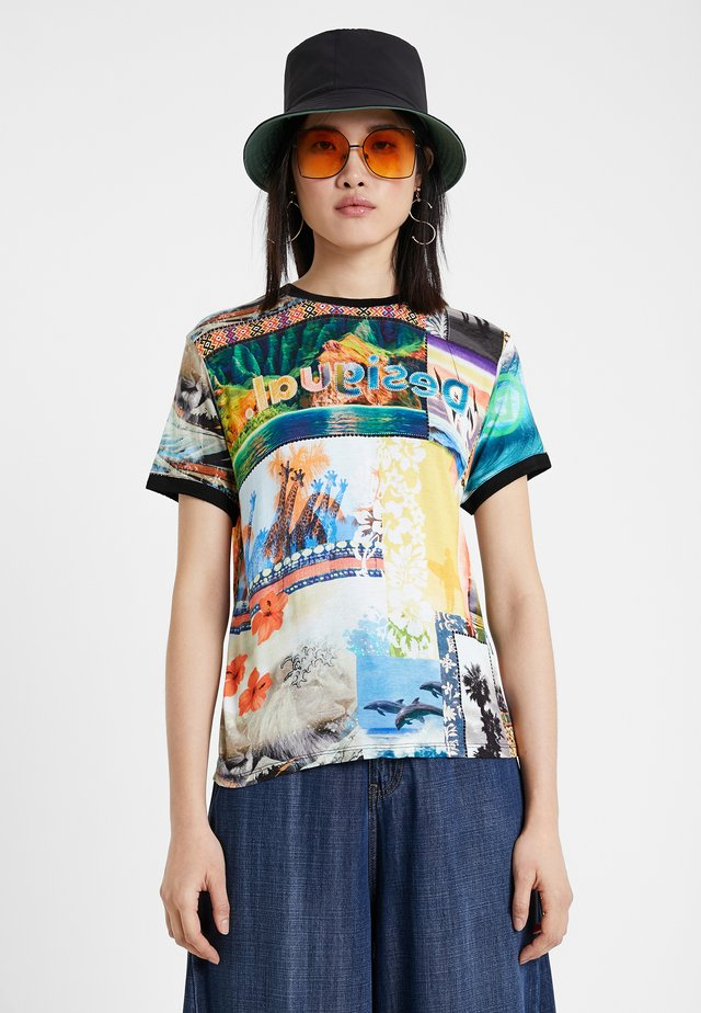 TS_SAFARI - Camiseta estampada - multicolor