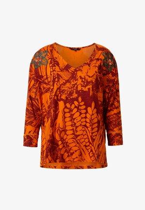 TS_NISE - T-shirt à manches longues - red