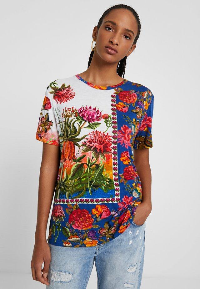 TS_PARSON - T-shirt con stampa - multicolor