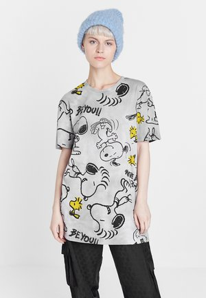 SNOOPY - T-Shirt print - black