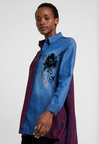 Desigual - CAM FEZ - Koszula - blue denim - 3