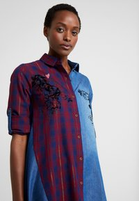 Desigual - CAM FEZ - Koszula - blue denim - 4