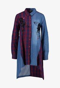 Desigual - CAM FEZ - Koszula - blue denim - 5