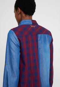 Desigual - CAM FEZ - Koszula - blue denim - 6