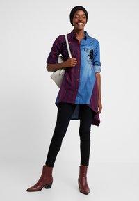 Desigual - CAM FEZ - Koszula - blue denim - 1