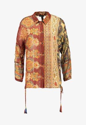 SHURI - Camicia - borgoña