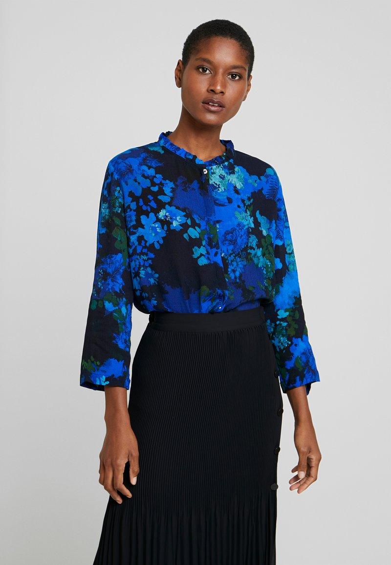 Desigual - CAM ANCONA - Bluser - azul agata