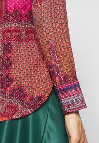 Desigual - CAMASIS - Button-down blouse - granate medio - 5
