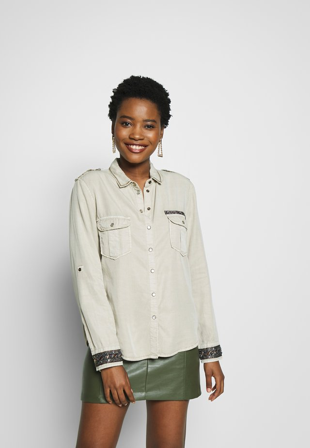 ETHIO - Camisa - beige primaveral