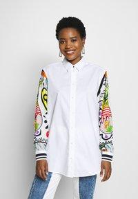 Desigual - CAM TARENTO - Button-down blouse - blanco - 0