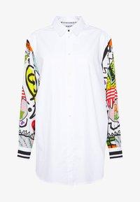 Desigual - CAM TARENTO - Button-down blouse - blanco - 4