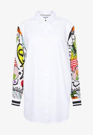 CAM TARENTO - Button-down blouse - blanco