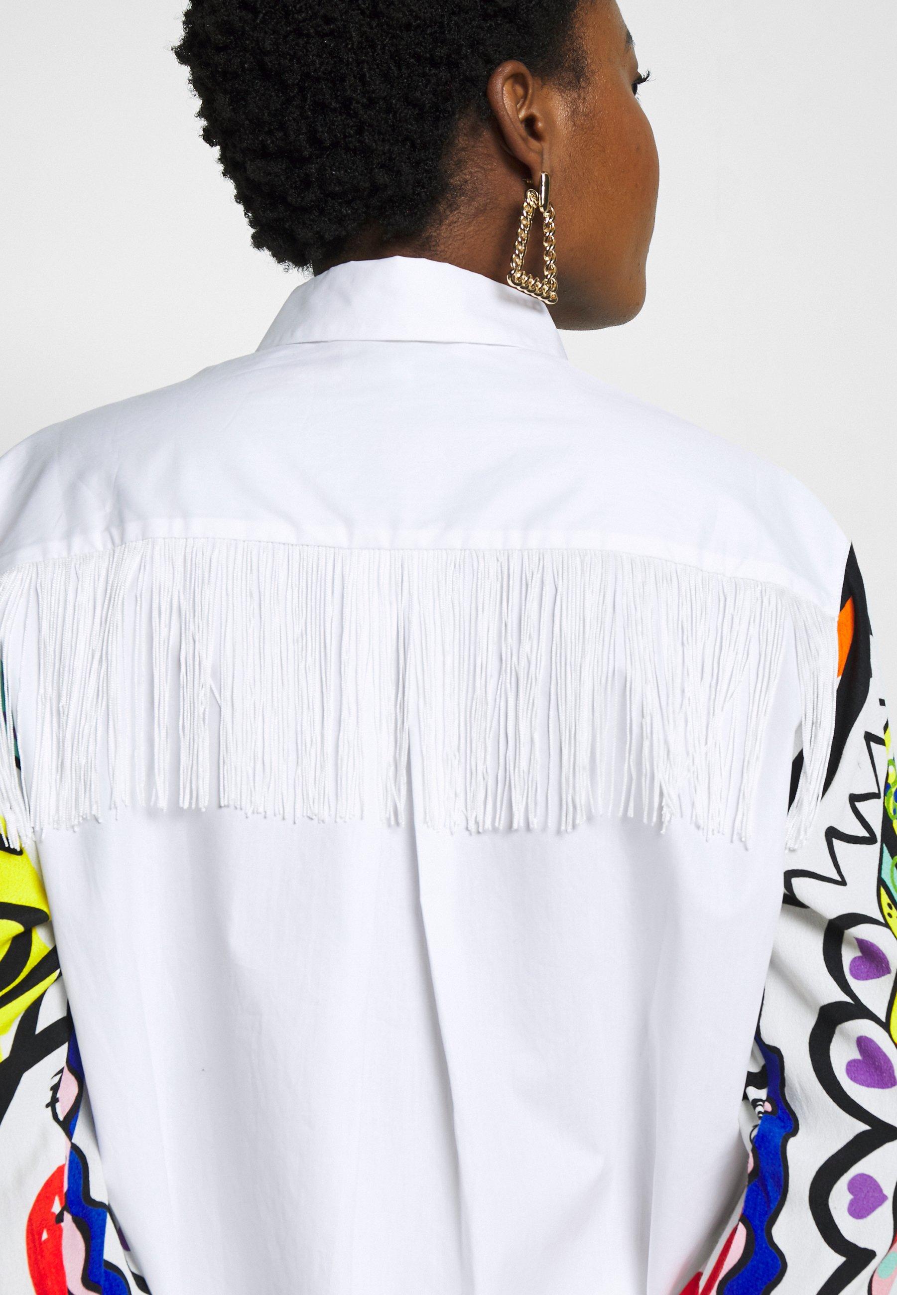 Desigual CAM TARENTO - Koszula - blanco