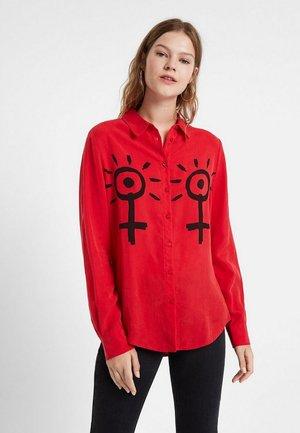 CAM TIGGY - Skjortebluser - red